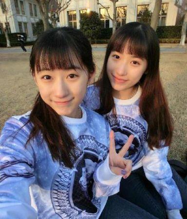 复旦双胞胎姐妹花生活照曝光