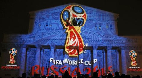 2018年俄罗斯世界杯会徽发布 重启四年等待