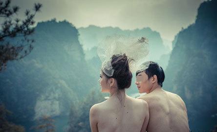 大学生情人人体艺术_张家界文联主席赞同裸体婚纱 称是人体艺术(图)