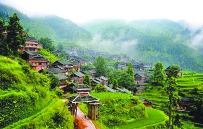侗族风景图片高清