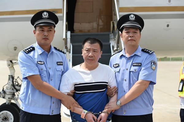 女巨贪杨秀珠弟弟杨进军从美国被强制遣返回国.