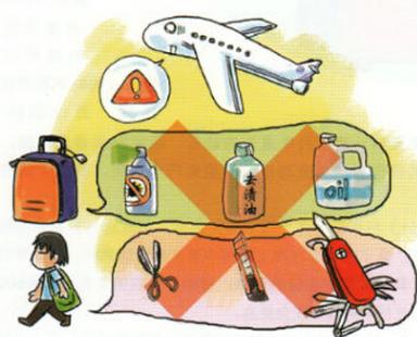 主观故意明显 飞机上能带