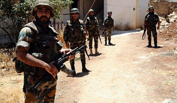 """外媒:一中国""""东突""""恐怖分子被叙利亚军队击毙图片"""