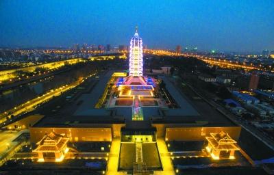 南京大报恩寺遗址公园开放