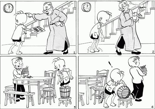 动漫 简笔画 漫画 手绘 线稿 495_350