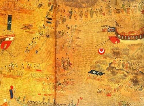 明代时琉球王国一直使用中国的年号