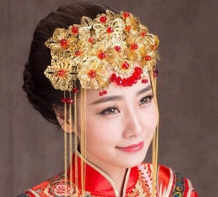 凤冠霞帔缘何成古代新娘标配?曾是高贵身份的象征图片