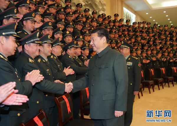 向全体解放军指战员、武警部队官兵、民兵预备役人员致以新春祝福图片