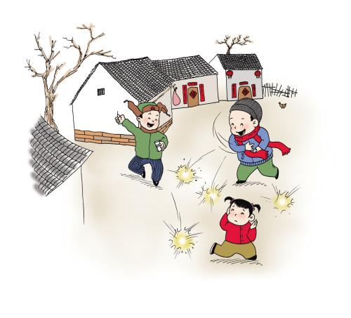 环保部提醒,受春节期间特别是除夕,初一和初五烟花爆竹集中燃放影响