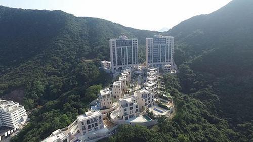 山顶人体艺术_香港山顶超豪宅标售 有望挑战新高价纪录