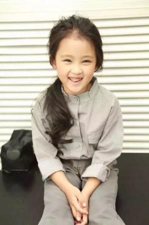 5歲童星張婉兒成才藝大賽最小公益使者圖片
