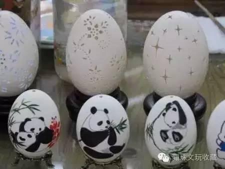 蛋上生画 绚丽多彩:精美蛋画欣赏