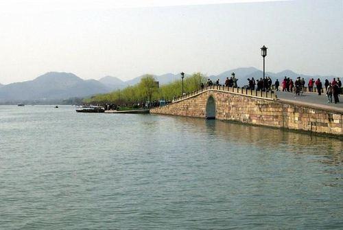 杭州地标建筑线描