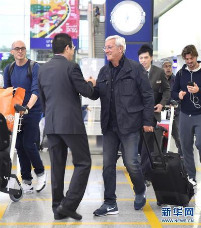 里皮出任中国男足国家队主教练