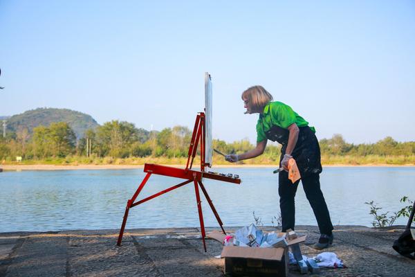 对话山水与风景:中国写生大会惊艳丽水古堰画乡