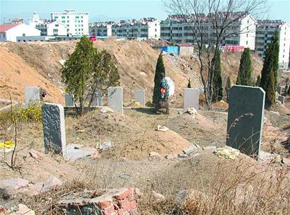 亚洲第一坟_广西一村庄上百祖坟被一夜铲平 施工方:铲错地方