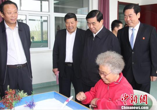 人口老龄化_河北省老年人口