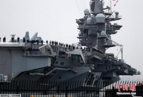 美航母战斗群抵韩 超强配置:70余架飞机 上百战斧导弹