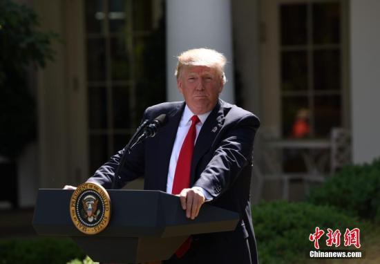 特朗普:共和党健保提案在参议院遇阻 前途坎坷