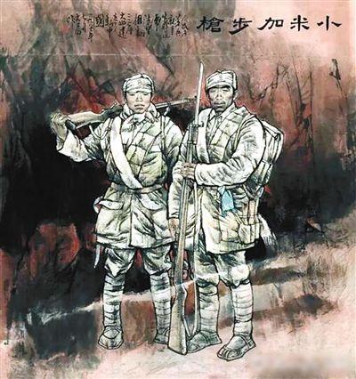 """致敬""""最可爱的人"""" 细数艺术作品中的军人形象"""