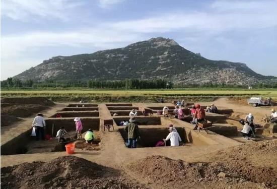 1100年的古城 科考首次发现王莽改制重要