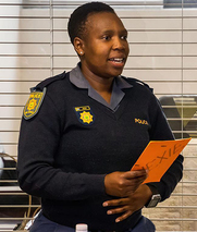 南非警察汉语学习班受欢迎