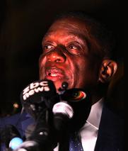 姆南加古瓦返回津巴布韦 承诺致力于发展经济