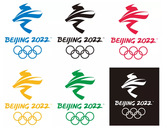 会徽设计秉承展现举办地文化、体现以运动员为中心的理念,将中国书法艺术与冬残奥会体育运动特征结合起来。设计展现了汉字飞的动感和力度,巧妙地幻化成一个向前滑行、冲向胜利的运动员,同时形象化地表达了轮椅等冬残奥会特殊运动器械形态。上半部分线条刚劲曲折,下半部分柔美圆润,寓意运动员经过顽强拼搏历经坎坷最终达到目标获得圆满成功。