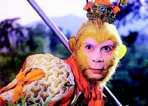 86版《西游记》中六小龄童饰演的美猴王孙悟空
