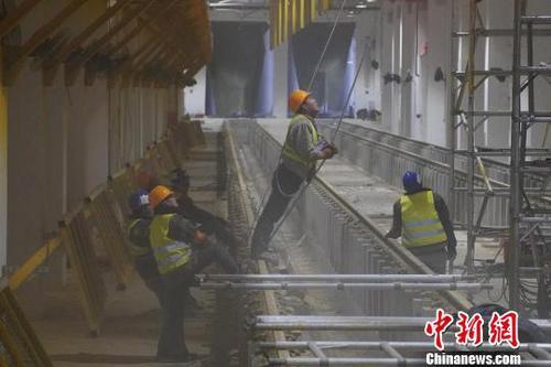 北京地铁6号线东小营车辆段预计2018年5月底具备试运营条件.