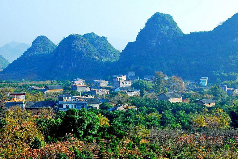 广西合那高速最佳风景