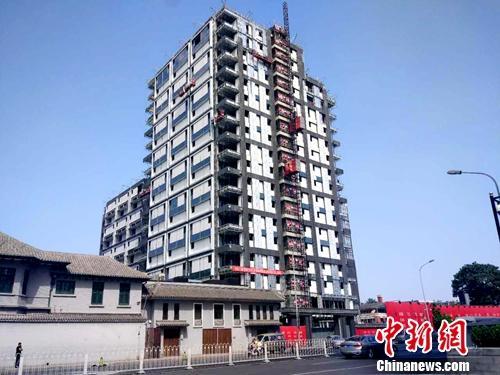 资料图:正在建设的楼房。<a target='_blank' href='http://www.chinanews.com/' _fcksavedurl='http://www.chinanews.com/' _fcksavedurl='http://www.chinanews.com/' >中新网</a>记者 李金磊 摄