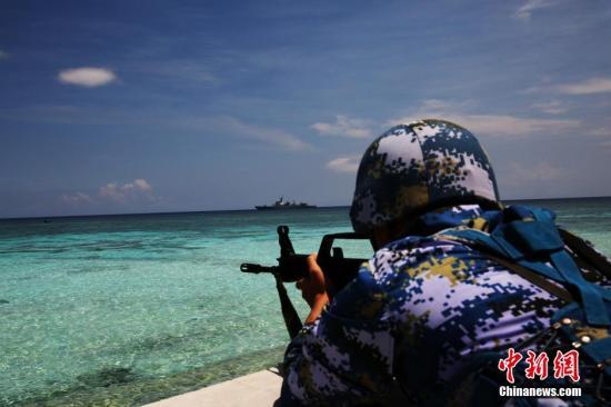 国防部:南沙群岛岛礁部署设施不针对任何国家