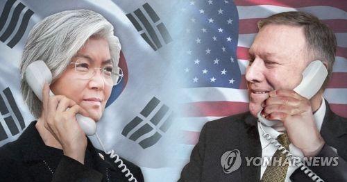...奥当天通话,就朝美首脑会谈事宜深入交换意见.-美国务卿和韩外长...图片 26593 500x262