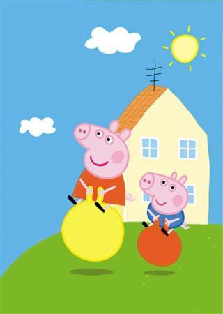 """这是我的妈妈,这是我的爸爸……"""" 英国动画片《小猪佩奇》自两年前图片"""