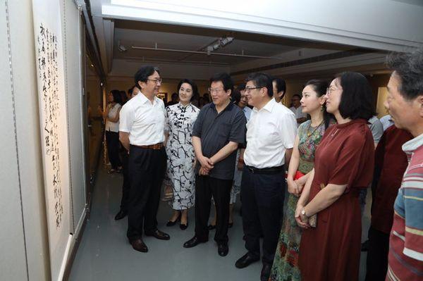 """""""与时偕行""""美术创干展在杭州揭幕"""