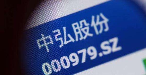 深交所对中弘股份启动终止上市程序图片 27599 600x309