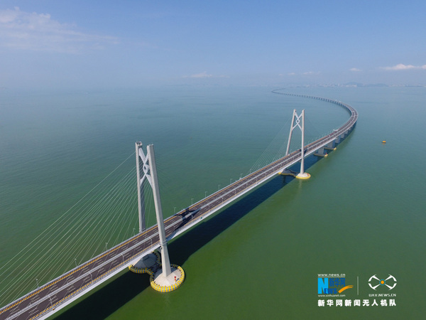 台湾舆论关注港珠澳大桥开通 粤港澳三地半小时经济圈成形