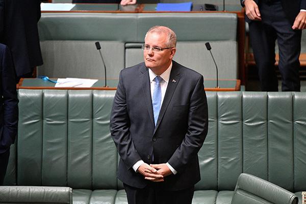澳大利亚总理斯科特莫里森 视觉中国 资料图