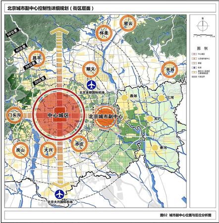 北京城市副中心控制性详细规划发布 打造三个示范区