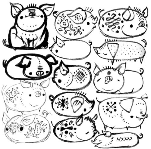 简笔画 设计 矢量 矢量图 手绘 素材 线稿 501_495