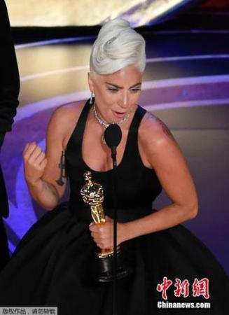 Lady Gaga凭借《Shallow》获得奥斯卡最佳原创歌曲奖