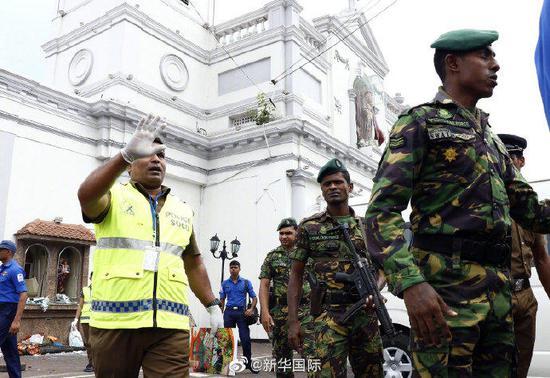 斯里兰卡连环爆炸后 当地华人帮助寻找失联中国人