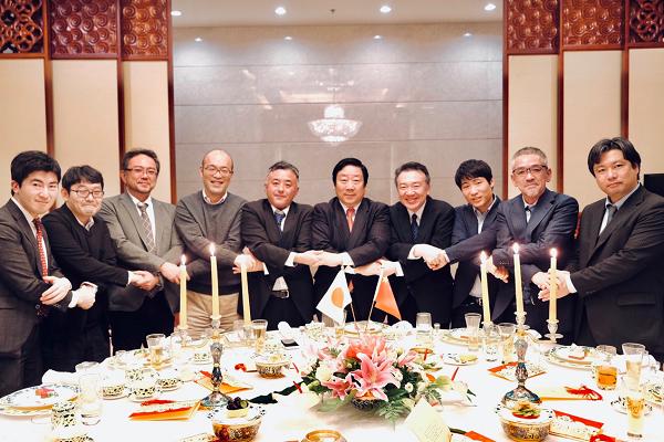 潘庆林与日本驻华主流媒体谈心交流座谈
