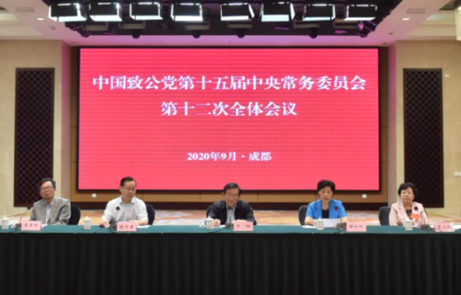 致公党十五届十二次中常会在蓉召开