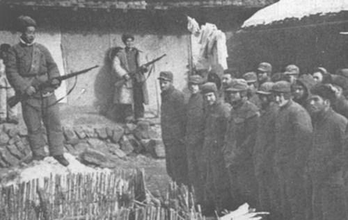 """志愿军俘虏的""""联合国军""""官兵"""