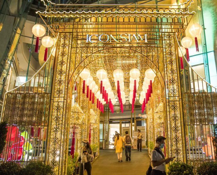 泰国商场迎春节