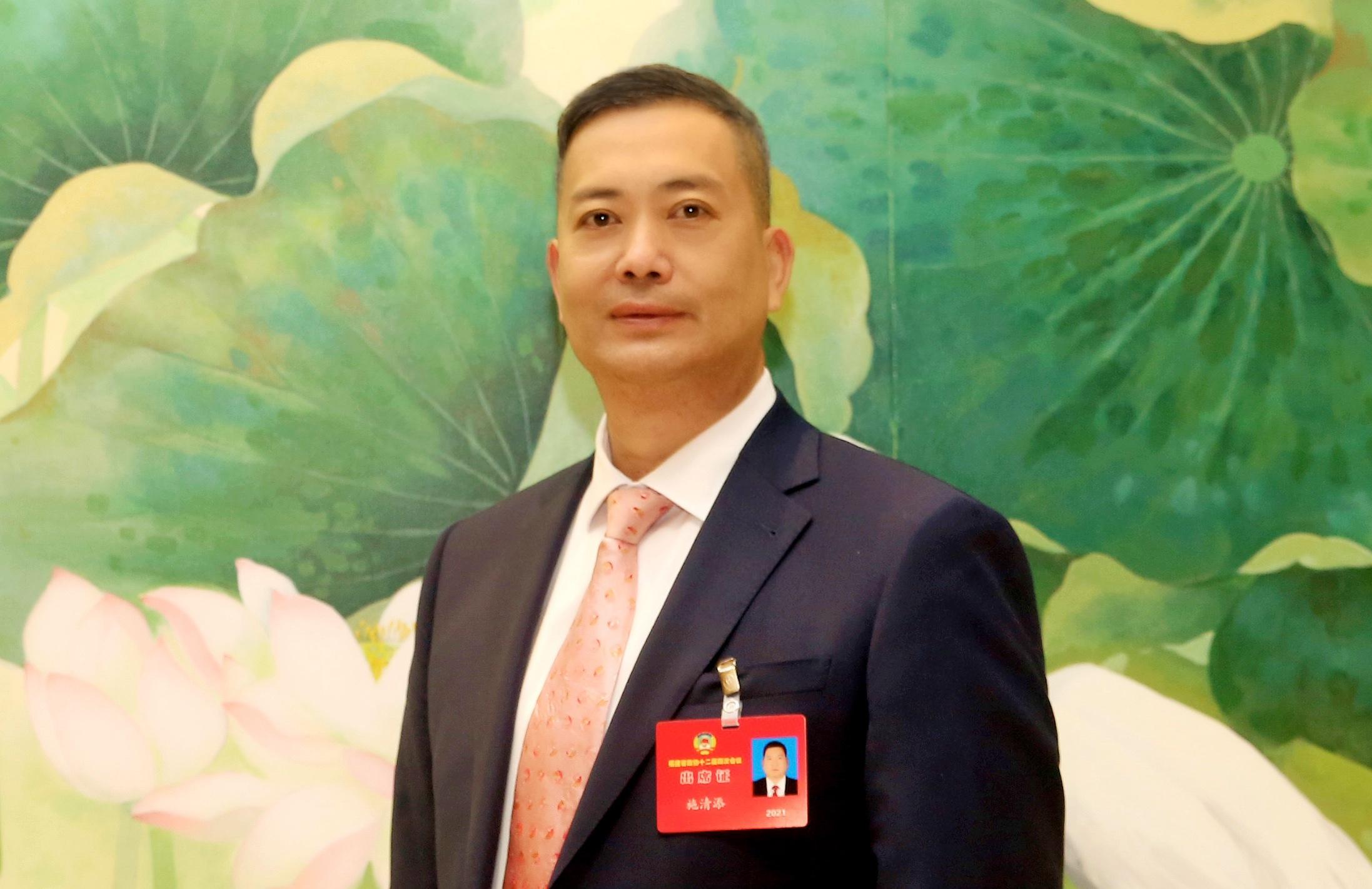 福建省政协委员施清添:只有爱国者治港香港明天才会更好