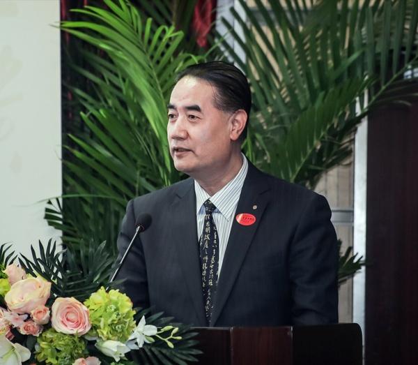 中国国际文化交流中心秘书长许红海致辞