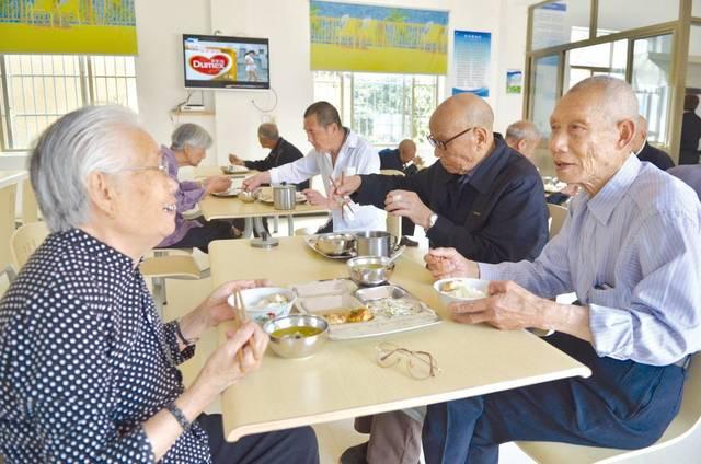 社区养老 足不出户享受养老服务